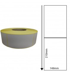 148 x 210mm Thermal Transfer Block-Out Labels
