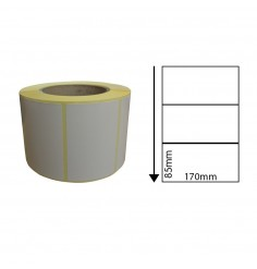 170 x 85mm Thermal Transfer Block-Out Labels
