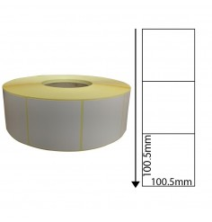 Zebra LP2824 - 100.5mm x 100.5mm Perforated Direct Thermal Labels