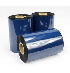5 pack of 104mm x 450mm Black Thermal Transfer Wax Ribbon