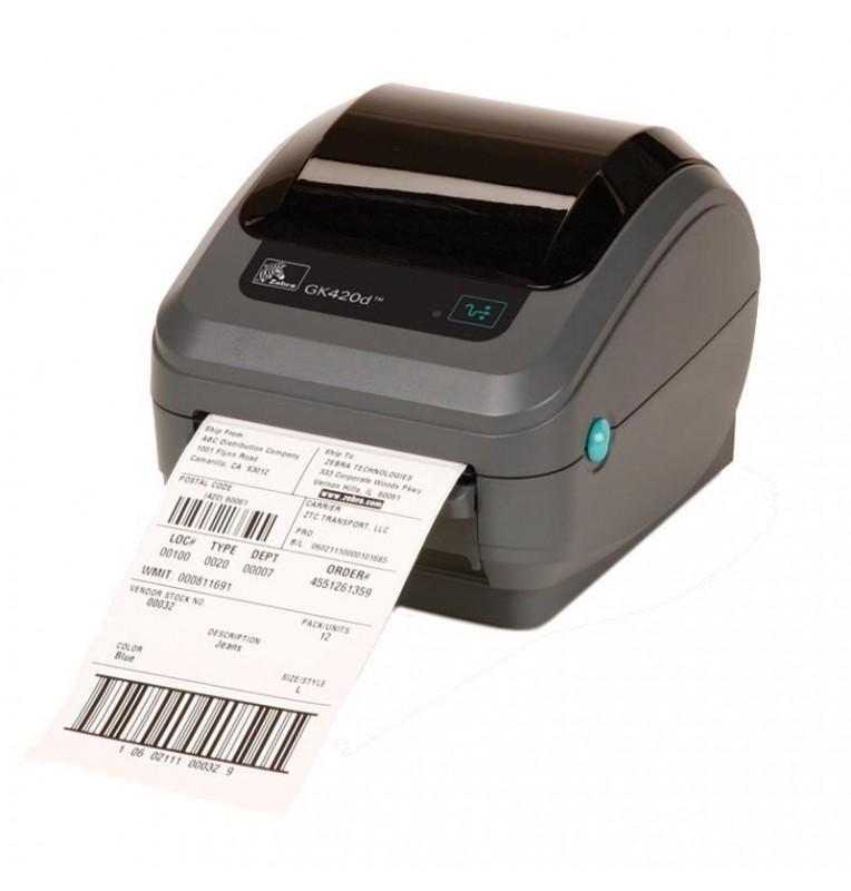Zebra GK420d - Compact Direct Thermal Desktop Label Printer