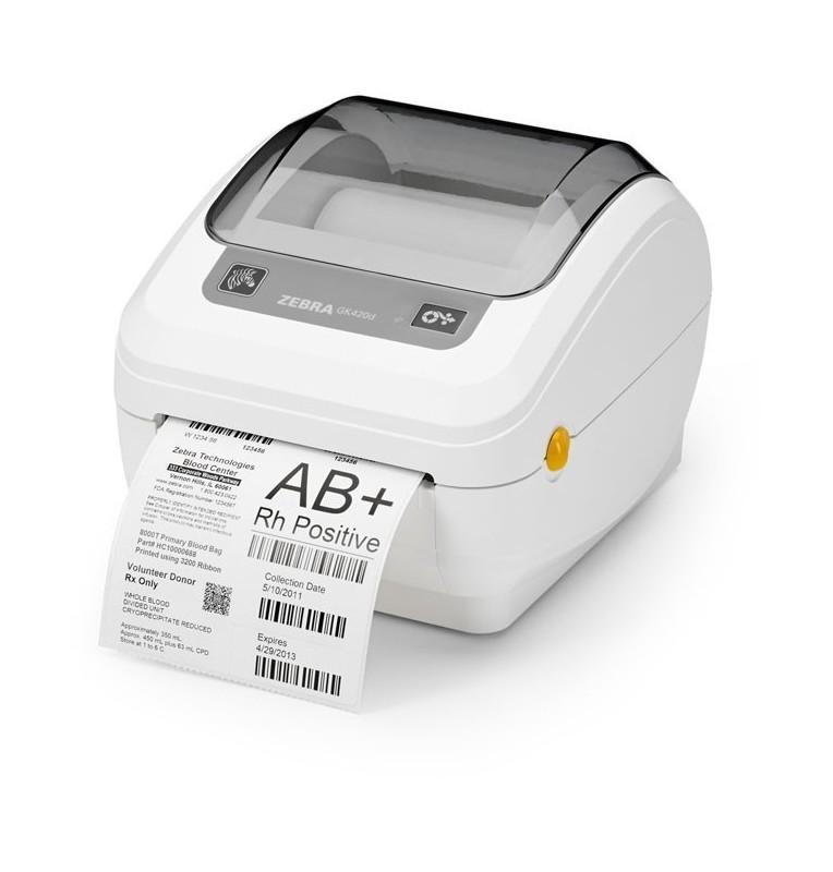 Zebra GK420d Healthcare - Designed specifically for healthcare applications
