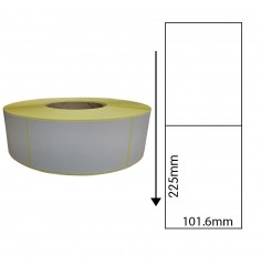 101.6 x 225mm S/Perf Thermal Transfer Labels
