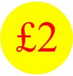 £2 Promotional Label - Qty 1,000