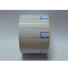 CAS Thermal Scale Labels - 58mm x 40mm - 10 rolls / 7,500 labels