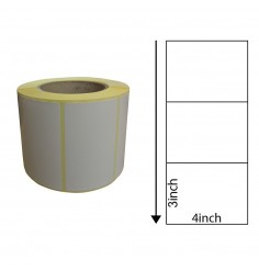 4x3 Inch Thermal Transfer Labels