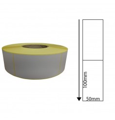 50 x 100mm Thermal Transfer Labels