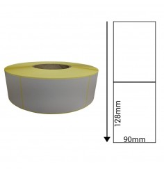 90mm x 128mm Direct Thermal Labels (1,000 Labels)