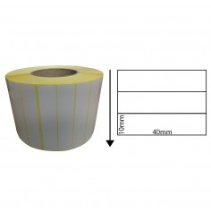 40mm x 10mm Direct Thermal Labels