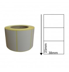 38mm x 25mm Direct Thermal Labels