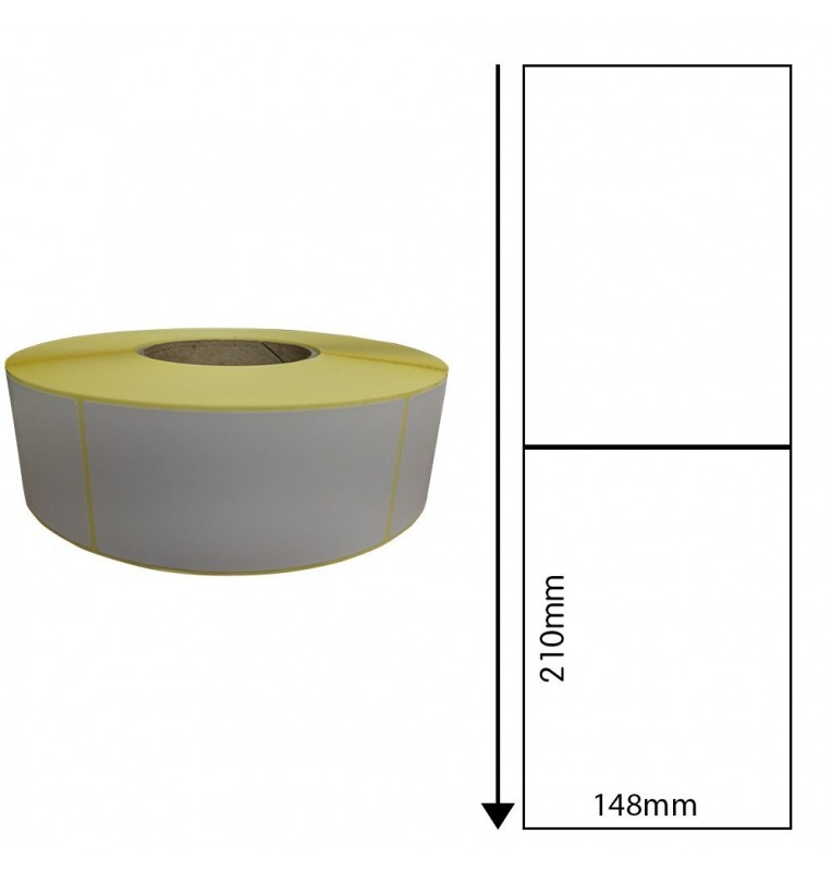 148mm x 210mm Direct Thermal Labels